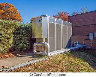 Refrigeration equipment used for process cooling, a chiller...