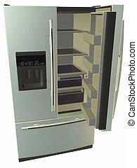 Refrigerator - 3D Render