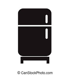 Refrigerator icon Vector Illustration