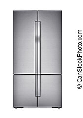 Refrigirator on white background