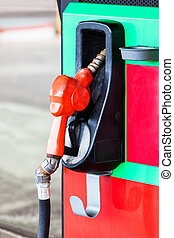 petrol gas station