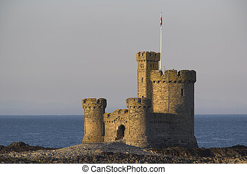 Refuge Castle - The Refuge at Douglas in the Isle of Man