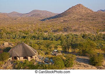 Refuge - Lodge nestling in the beautiful arid landscape of...
