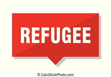 refugee red tag