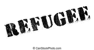 Refugee rubber stamp