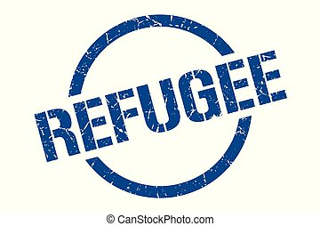 refugee stamp