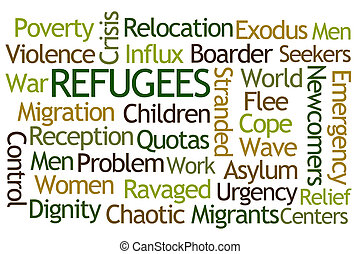 refugees, 詞, 雲