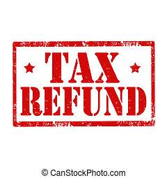 refund-stamp, impôt