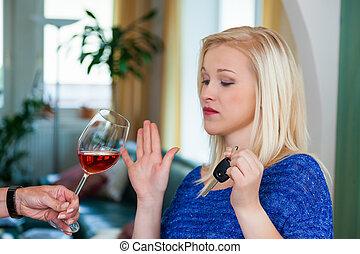 refused, alcohol, automovilista