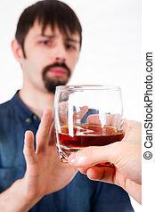refuses, アルコール, 人