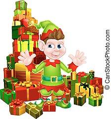 regali natale, elfo