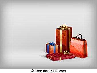 regali, rosso