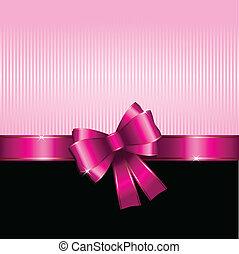 regalo, día de valentines, plano de fondo