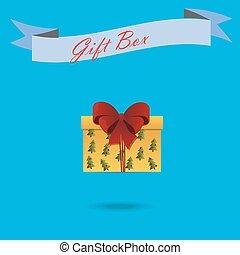 regalo de navidad, caja