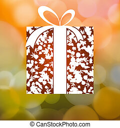 regalo, foglie, eps, autunno, fondo., 8