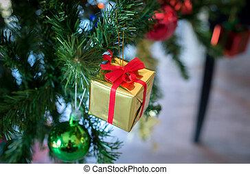 regalo natale, scatole