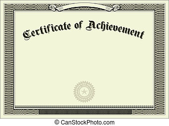 regalo, vector, certificado, plano de fondo