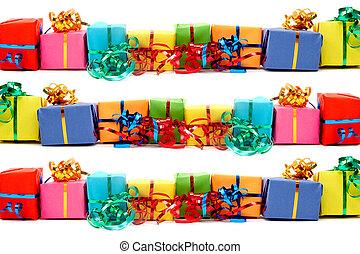 regalos, colorido