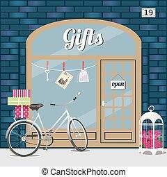 regalos, shop.