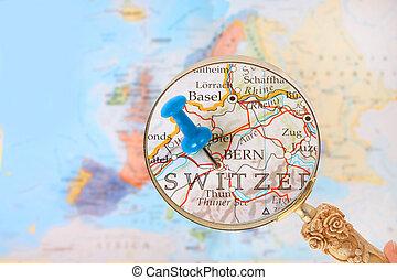 regarder, suisse, berne