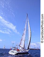 regatta in Azores