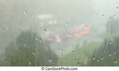 regen fällt