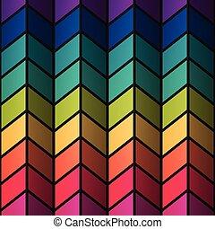 regenbogen, bunte, befleckenglas, rechtecke, abstrakt, hintergrund