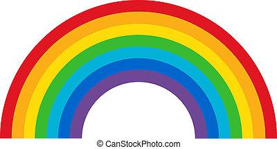 regenbogen, klassisch