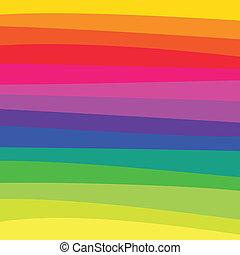 regenbogen, muster