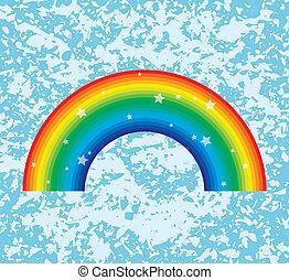 regenbogen-symbol, vektor