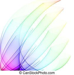 regenbogen, weich