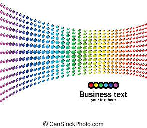 regenbogenfarben, hintergrund, abstrakt