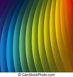regenboog, abstract, achtergrond