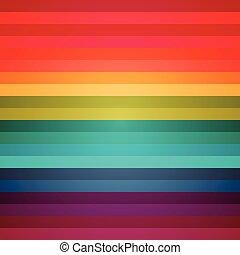 regenboog, abstract, kleurrijke, strepen, achtergrond