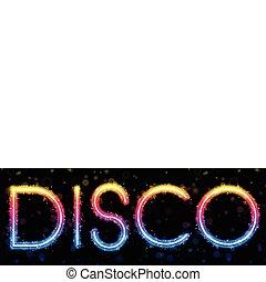 regenboog, abstract, zwarte achtergrond, disco