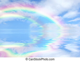 regenboog, beauty