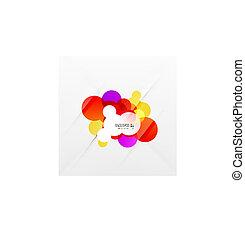 regenboog, bellen, kleurrijke, abstract, achtergrond