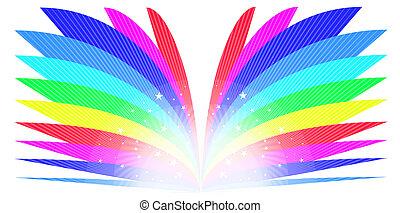 regenboog, boek
