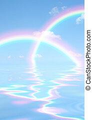 regenboog, geesten