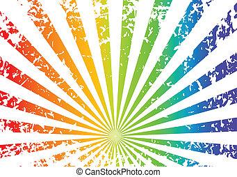 regenboog grunge, achtergrond