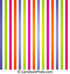 regenboog, helder, strepen