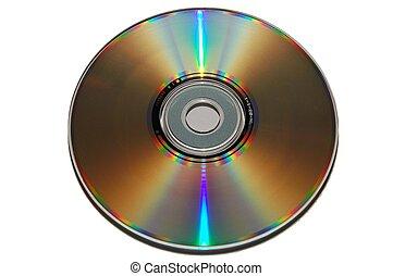 regenboog, kleur, cd