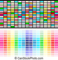 regenboog kleurt, achtergrond