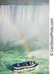 regenboog, ontario, niagarawatervallen
