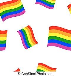 regenboog, seamless, achtergrond