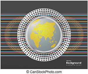 regenboog, wereld, informatieboekje , ontwerp