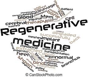 Regenerative medicine - Abstract word cloud for Regenerative...