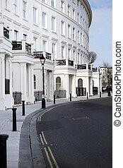 regentschap, halvemaan, flats, architectuur, brighton
