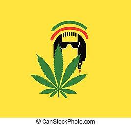 reggae, concetto, disegno, cultura
