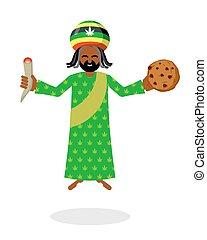 reggae, galletas, rastafarian, rasta, rastaman, trae,...